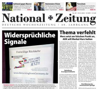 National-Zeitung 49/2018